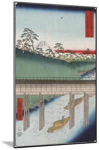 Ochanomizu in the Eastern Capital-Ando Hiroshige-Mounted Giclee Print