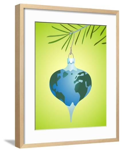 Fragile earth-Harry Briggs-Framed Art Print