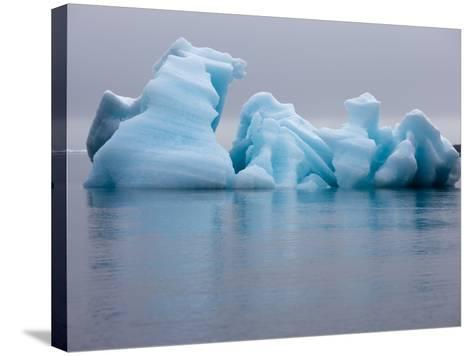 Iceberg, Svalbard, Norway-Paul Souders-Stretched Canvas Print