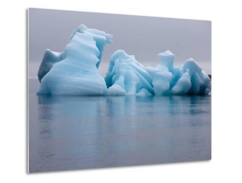 Iceberg, Svalbard, Norway-Paul Souders-Metal Print