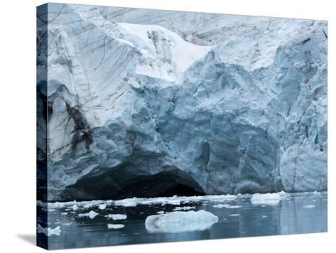 Glacier Ice, Spitsbergen Island, Svalbard, Norway-Paul Souders-Stretched Canvas Print