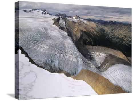 Resthaven Icefields, Alberta, Canada-Russ Heinl-Stretched Canvas Print