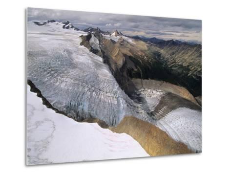 Resthaven Icefields, Alberta, Canada-Russ Heinl-Metal Print