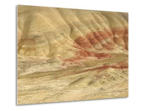 The Painted Hills at the John Day Fossil Beds National Monument, Oregon, USA-Peter Carroll-Metal Print