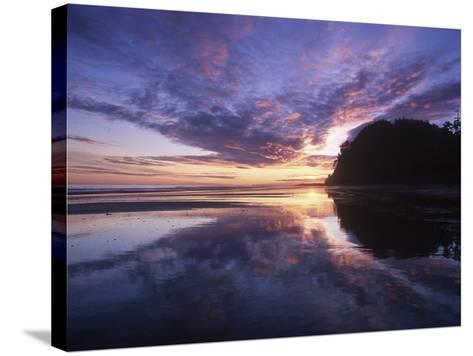 Queen Charlotte Islands, (Haida Gwaii), Tow Hill on Graham Island at Dawn, British Columbia, Canada-Chris Cheadle-Stretched Canvas Print