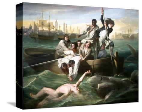 Watson and the Shark-John Singleton Copley-Stretched Canvas Print