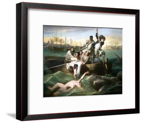 Watson and the Shark-John Singleton Copley-Framed Art Print