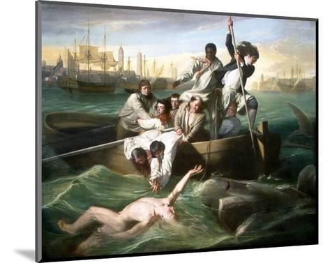 Watson and the Shark-John Singleton Copley-Mounted Giclee Print