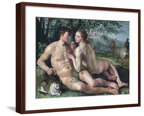 The Fall of Man-Hendrik Goltzius-Framed Art Print