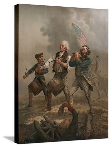 Yankee Doodle 1776-A^ M^ Willard-Stretched Canvas Print