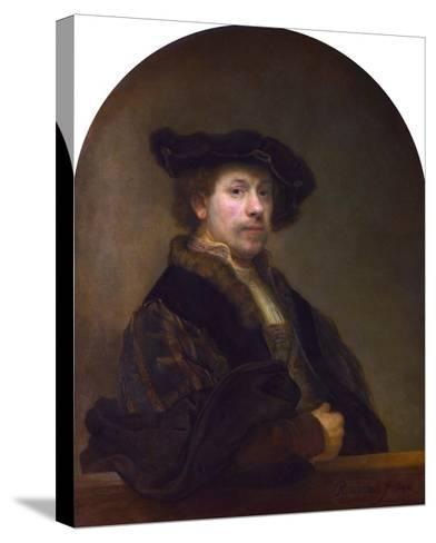 Self Portrait at the Age of 34-Rembrandt van Rijn-Stretched Canvas Print