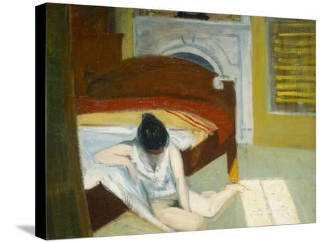Summer Interior-Edward Hopper-Stretched Canvas Print