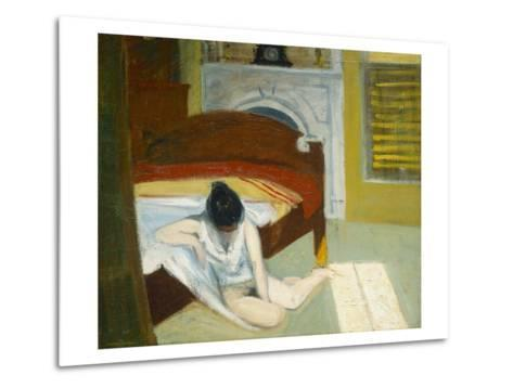 Summer Interior-Edward Hopper-Metal Print