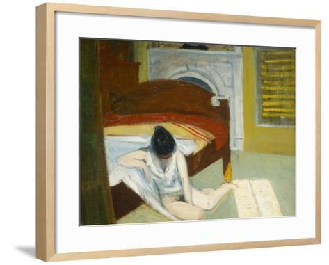 Summer Interior-Edward Hopper-Framed Art Print