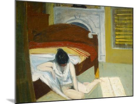 Summer Interior-Edward Hopper-Mounted Giclee Print