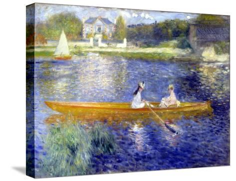 The Skiff (La Yole)-Pierre-Auguste Renoir-Stretched Canvas Print