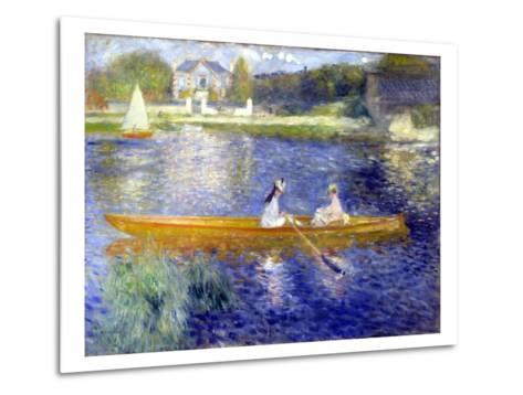 The Skiff (La Yole)-Pierre-Auguste Renoir-Metal Print