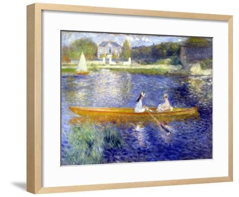 The Skiff (La Yole)-Pierre-Auguste Renoir-Framed Art Print