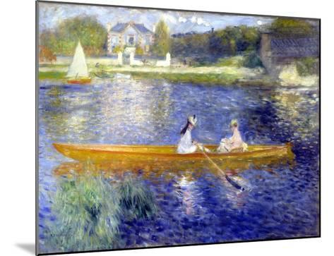 The Skiff (La Yole)-Pierre-Auguste Renoir-Mounted Giclee Print