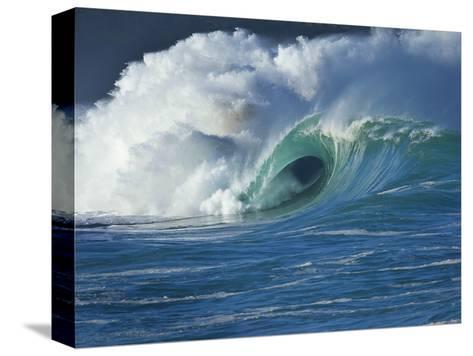 Wave, Waimea, North Shore, Hawaii-Douglas Peebles-Stretched Canvas Print