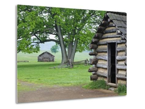 Cabin in Valley Forge National Historic Park-William Manning-Metal Print