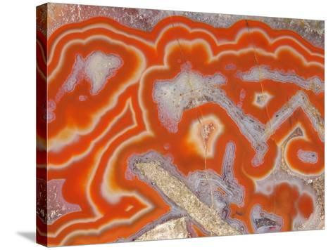 Agate sample-Walter Geiersperger-Stretched Canvas Print