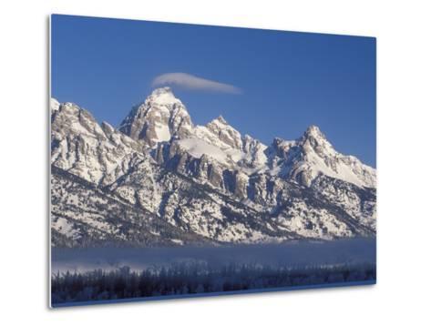 Banner Cloud on Summit of Grand Teton-Scott T^ Smith-Metal Print