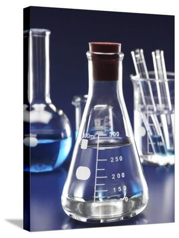Laboratory equipments--Stretched Canvas Print