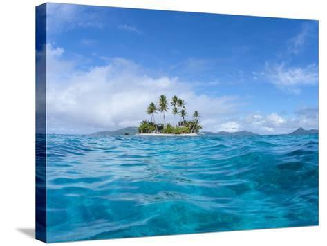 Tropical island, Micronesia--Stretched Canvas Print