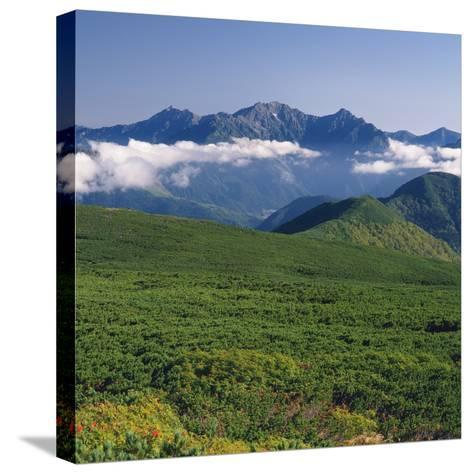 Hotaka mountain range, Nagano Prefecture, Japan--Stretched Canvas Print