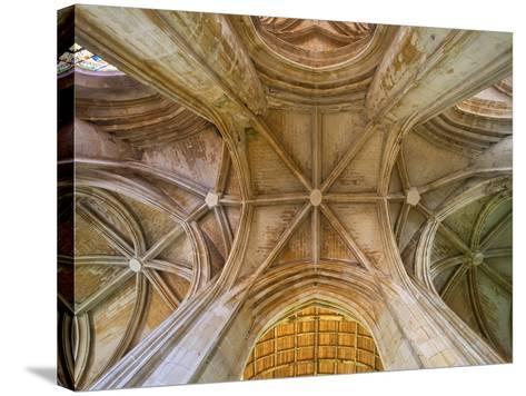 Saint-Pierre Cathedral in Saintes, France-Sylvain Sonnet-Stretched Canvas Print