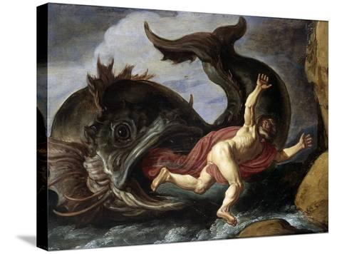 Jonah and the Whale--Stretched Canvas Print