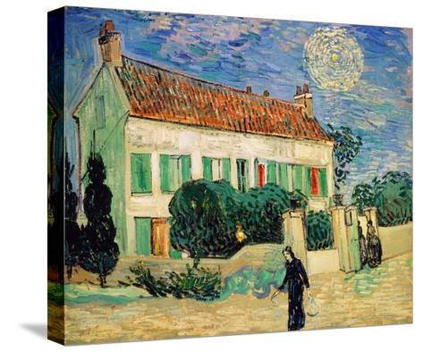 White House at Night-Vincent van Gogh-Stretched Canvas Print