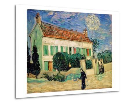 White House at Night-Vincent van Gogh-Metal Print