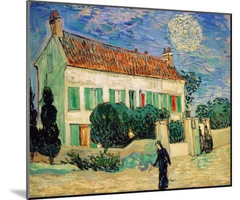 White House at Night-Vincent van Gogh-Mounted Giclee Print
