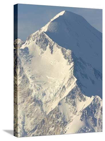 Ridge on Mt.McKinley-John Eastcott & Yva Momatiuk-Stretched Canvas Print