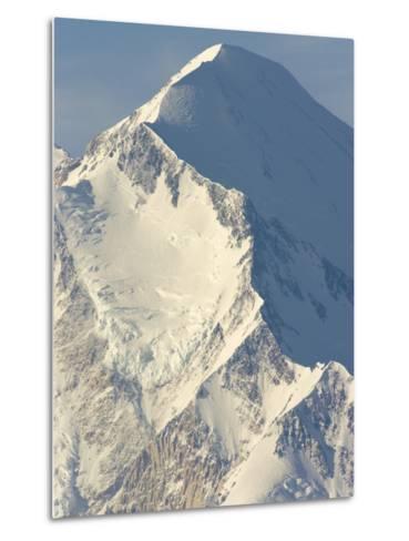 Ridge on Mt.McKinley-John Eastcott & Yva Momatiuk-Metal Print