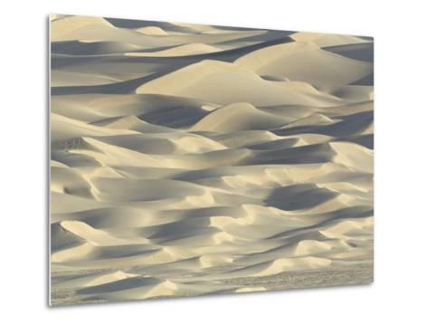 Sand dunes in Death Valley National Park-John Eastcott & Yva Momatiuk-Metal Print