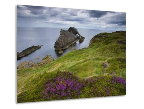 Bow Fiddle Rock, Portknockie, Scotland-Roland Gerth-Metal Print