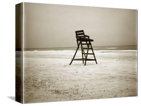 Lifeguard Chair-John Kuss-Stretched Canvas Print
