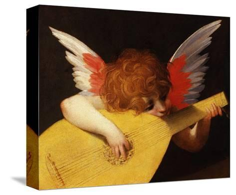 Musical Angel by Rosso Fiorentino--Stretched Canvas Print