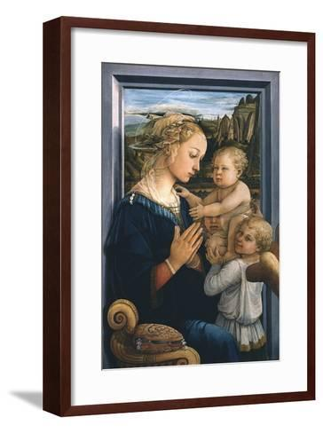 Madonna and Child with Angels-Filippo Lippi-Framed Art Print