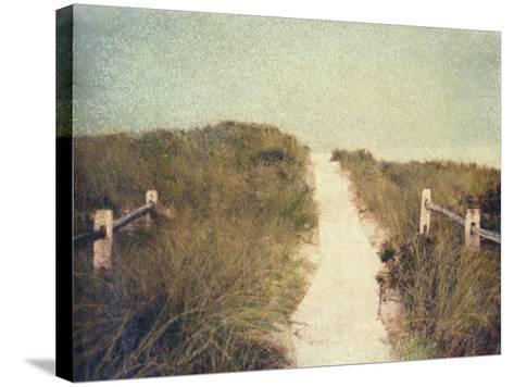 Beach Trail-Jennifer Kennard-Stretched Canvas Print