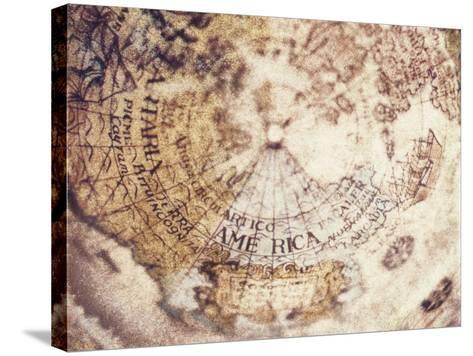 Globe-Jennifer Kennard-Stretched Canvas Print