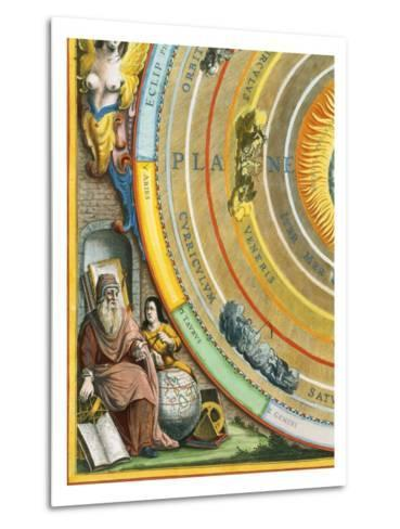 Detail of The Planisphere of Ptolemy Plate from The Celestial Atlas-Andreas Cellarius-Metal Print
