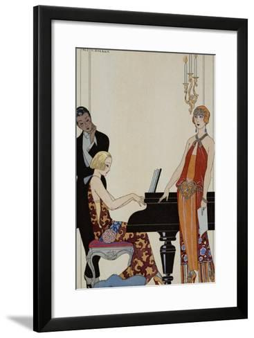 Incantation-Georges Barbier-Framed Art Print