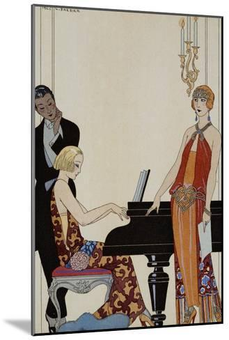 Incantation-Georges Barbier-Mounted Giclee Print
