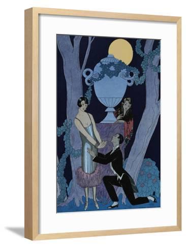 L'Olsarice-Georges Barbier-Framed Art Print
