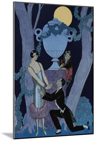 L'Olsarice-Georges Barbier-Mounted Giclee Print