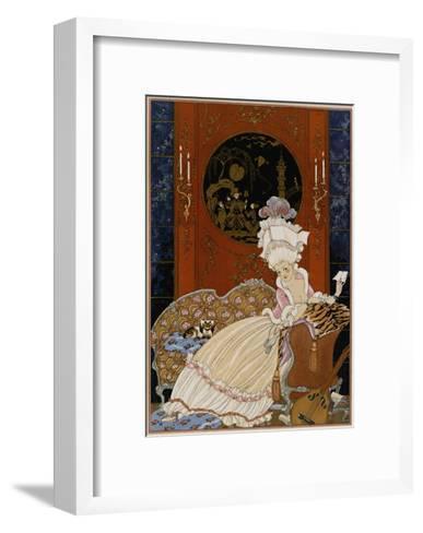 Love Letter-Georges Barbier-Framed Art Print